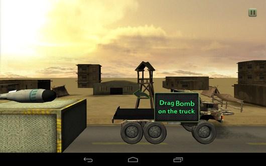 Обучение - Bomb Transport 3D для Android