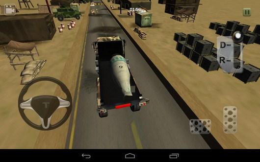 Начало транспортировки - Bomb Transport 3D для Android