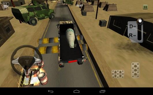 Лежачие полицейский - Bomb Transport 3D для Android