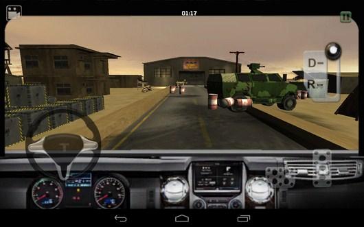 Вид из кабины - Bomb Transport 3D для Android