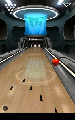 Неудачный бросок - Bowling 3D Extreme для Android