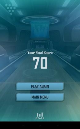 Итоги игры - Bowling 3D Extreme для Android