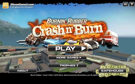 Убийственные гонки Burnin' Rubber: Crash n' Burn для Android
