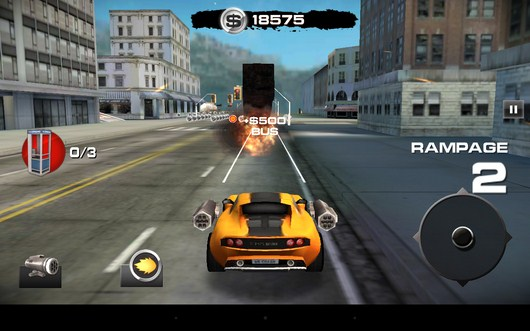 Уничтожение - Burnin` Rubber: Crash n` Burn для Android