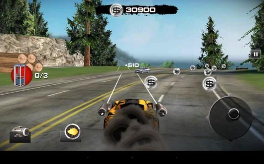 Продолжаем обстрел - Burnin` Rubber: Crash n` Burn для Android