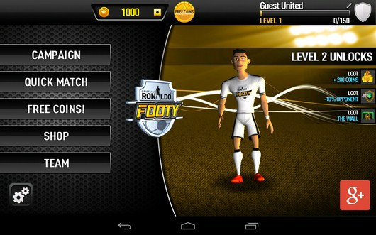 Симулятор футбола CR Footy для Android