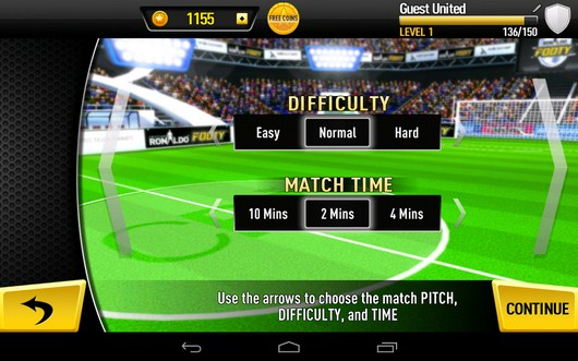 Случайная игра - CR Footy для Android