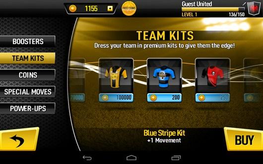 Выбор формы - CR Footy для Android