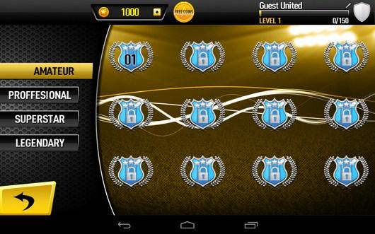 Выбор матча - CR Footy для Android