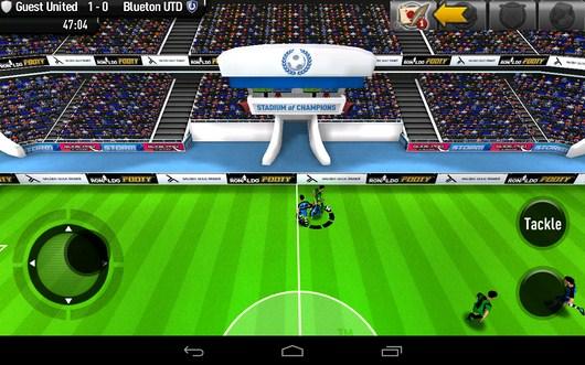 Отбор мяча - CR Footy для Android