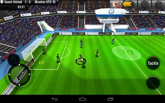 Мощный прострел - CR Footy для Android