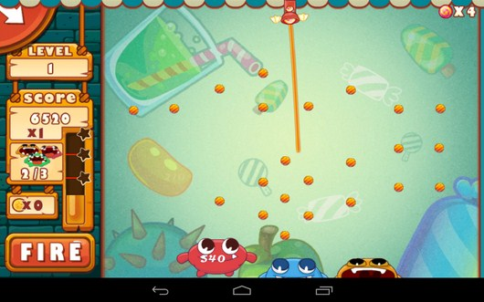 Целимся для выстрела - Catch The Candies для Android