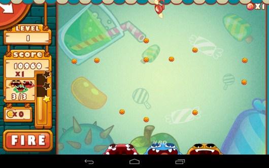 Конфеты почти собраны - Catch The Candies для Android