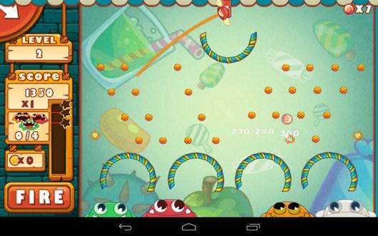 Более сложный этап - Catch The Candies для Android
