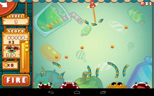 Максимум леденцов собрано - Catch The Candies для Android