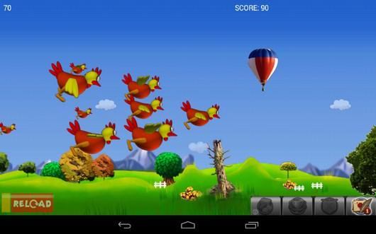 Куры полетели - Chicken Hunt для Android