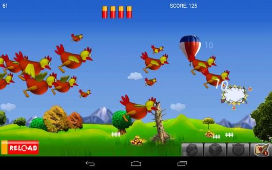 Удачный выстрел - Chicken Hunt для Android