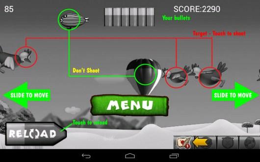 Обучение - Chicken Hunt для Android