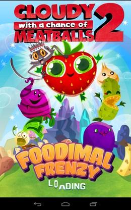 Уничтожаем еду Cloudy with Meatballs 2 для Android