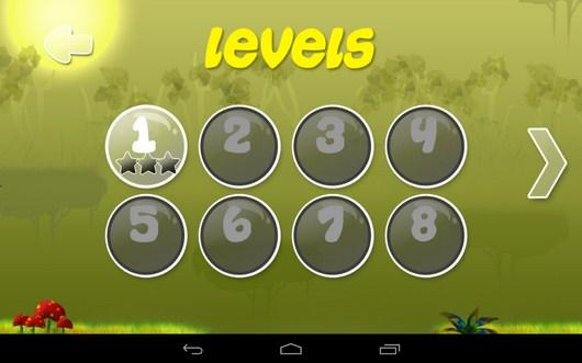 Выор уровня - Clumsy Wimp для Android