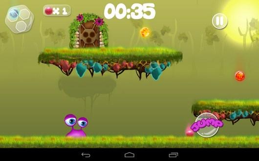 Уровень с платформами - Clumsy Wimp для Android