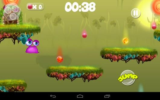 Прыгаем между платформами - Clumsy Wimp для Android