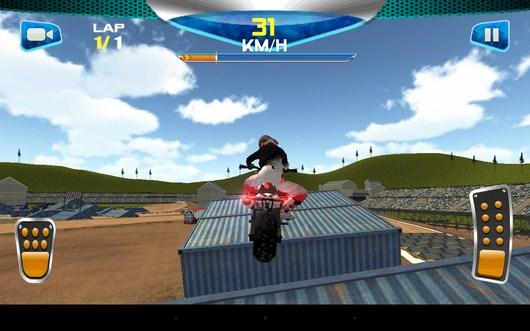 Перепрыгиваем контейнеры - Daredevil Rider для Android