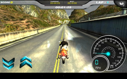 начало езды - Dream Bike для Android