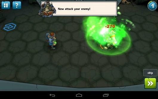 Дальняя атака ядом - Epic Arena для Android