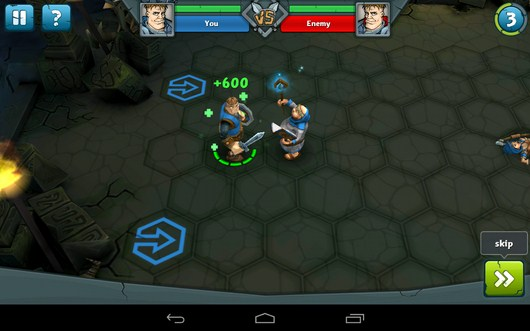 Лечение воина - Epic Arena для Android