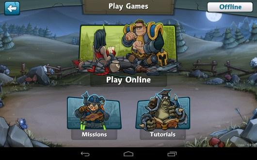 Режим игры - Epic Arena для Android