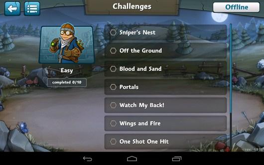 Выбор этапа - Epic Arena для Android