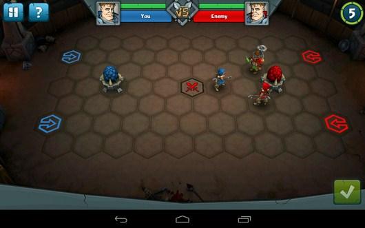 Начало сражения - Epic Arena для Android