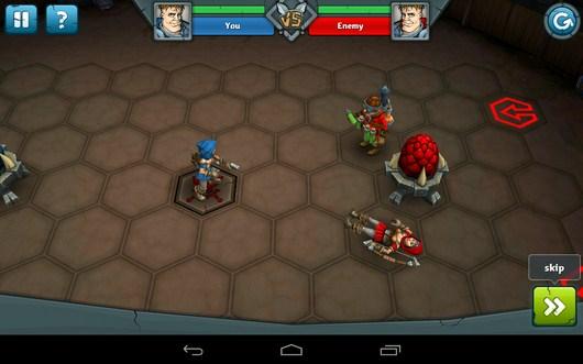 Воин противника убит - Epic Arena для Android