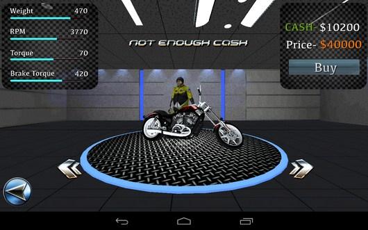 Покупка мотоцикла - Fast Bike Racing для Android