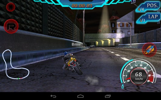 Начало заезда - Fast Bike Racing для Android