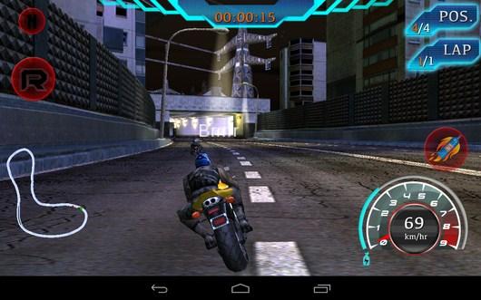 Доганяем соперников - Fast Bike Racing для Android