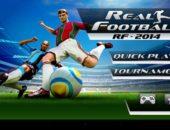 Футбольный чемпионат Real Footbal 2014 для Android
