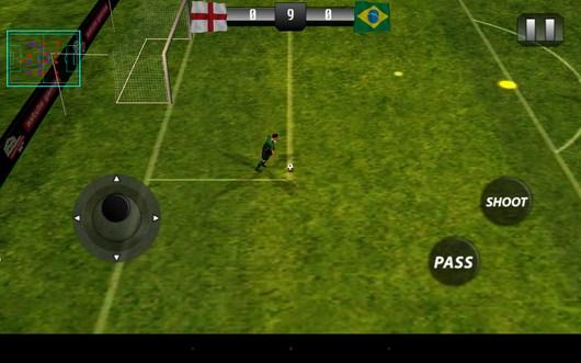 От ворот - Real Footbal 2014  для Android