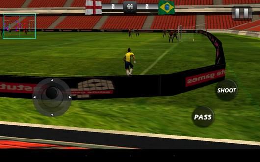 Угловой - Real Footbal 2014  для Android