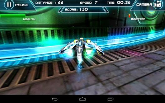 Вынесло с трассы - Future Racing 3D для Android