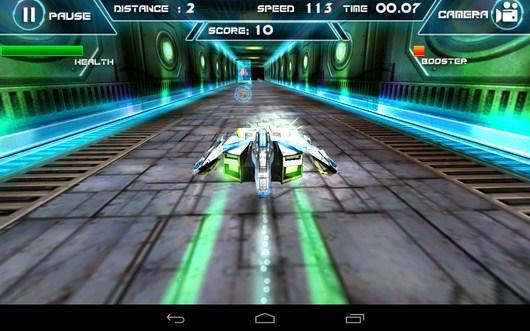 Гонка в рагаре - Future Racing 3D для Android