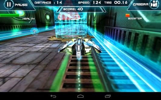 Барьер - Future Racing 3D для Android
