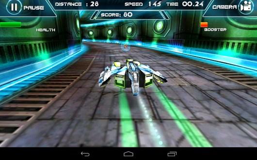 Поворот - Future Racing 3D для Android