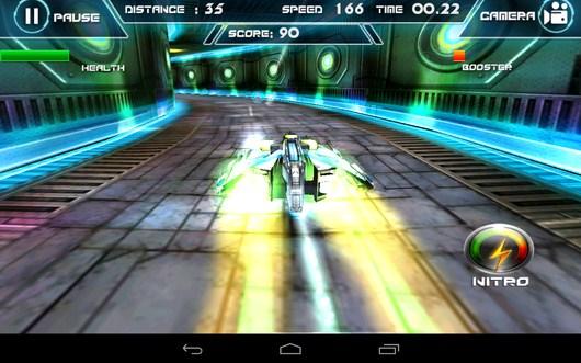 Ускорение - Future Racing 3D для Android