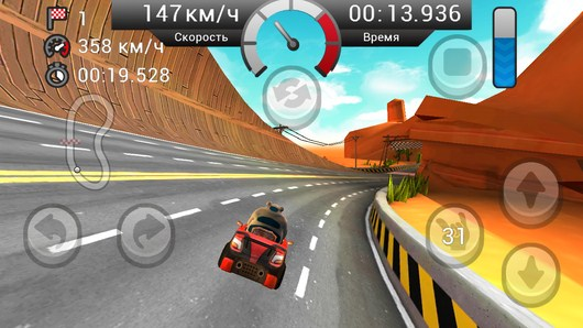 Вираж - Gamyo Racing для Android