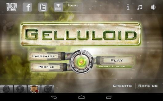 Тактическая стратегия Gelluloid для Android