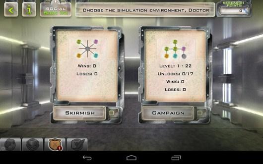 Выбор режима игры - Gelluloid для Android