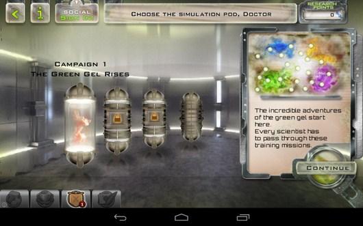 Выбор карты - Gelluloid для Android
