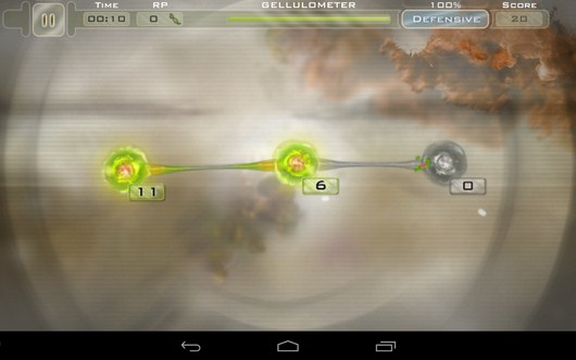 Первая туманность - Gelluloid для Android